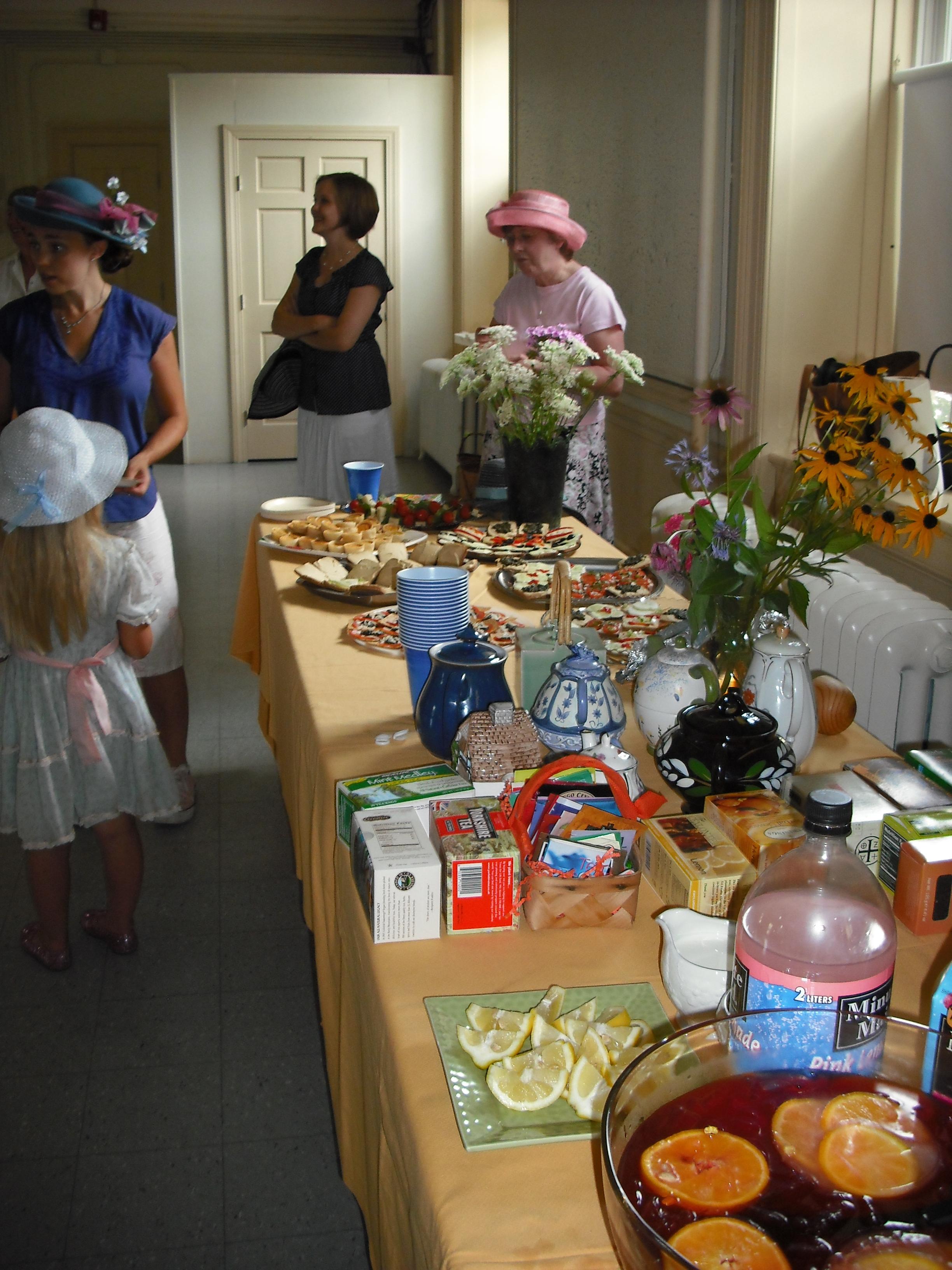 Bridal Shower Tea Party And Batchelorette In Newport Ri