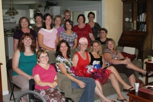 Bridal Shower Guests (minus a few folks who left before the picture was taken)