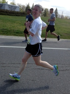 SMILE!! Still not midfoot running, better practice!!